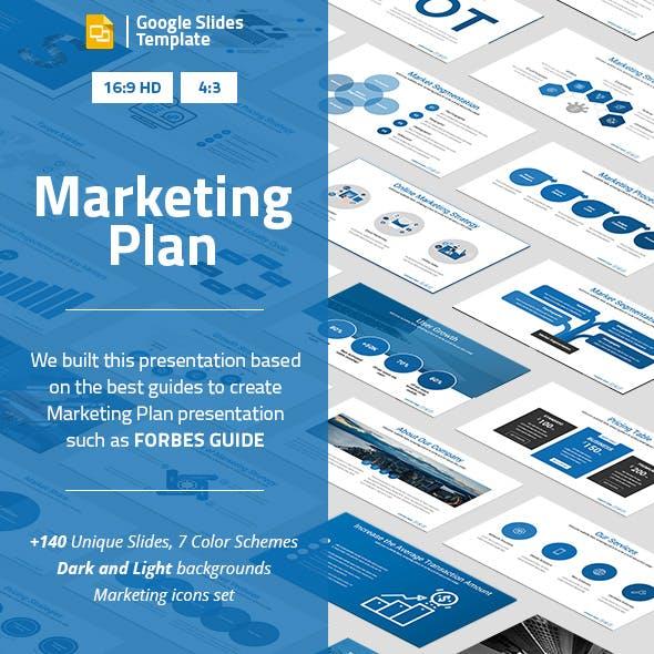 Marketing Plan Google Slides Presentation Template