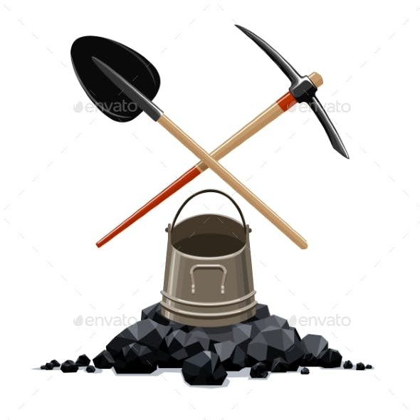 Miner Tools and Bucket