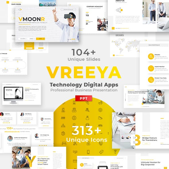 Technology Powerpoint Templates From Graphicriver