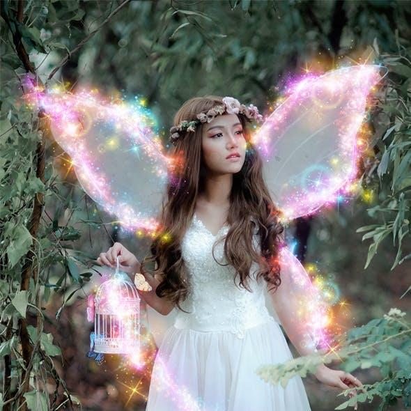 Magical Sparkles Photoshop Action