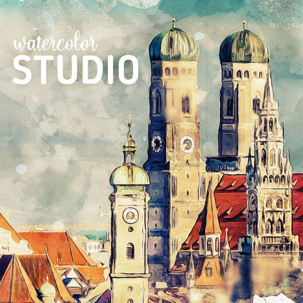 Watercolor Studio - Photo to Watercolor Painting
