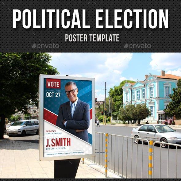 Political Election Poster v4
