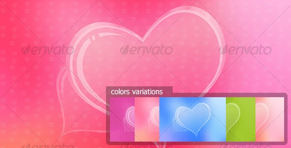 Heart background - Backgrounds Graphics