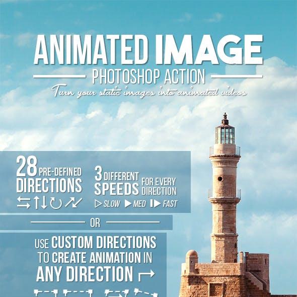 Animated Image Photoshop Action