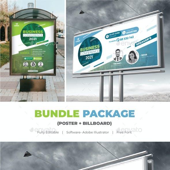 Conference Bundle (Poster+Billboard)
