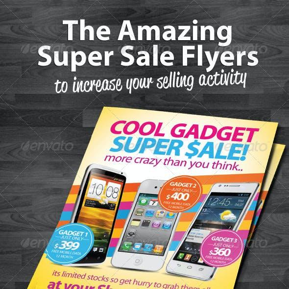 Super Sale Flyers