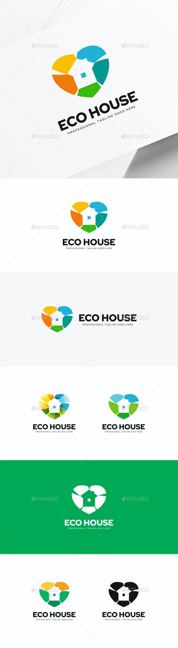House Logo - Buildings Logo Templates