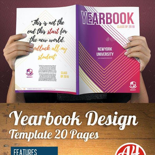 Yearbook Template Design Vol 3