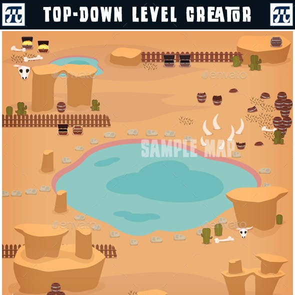 Top-Down Game Level Creator