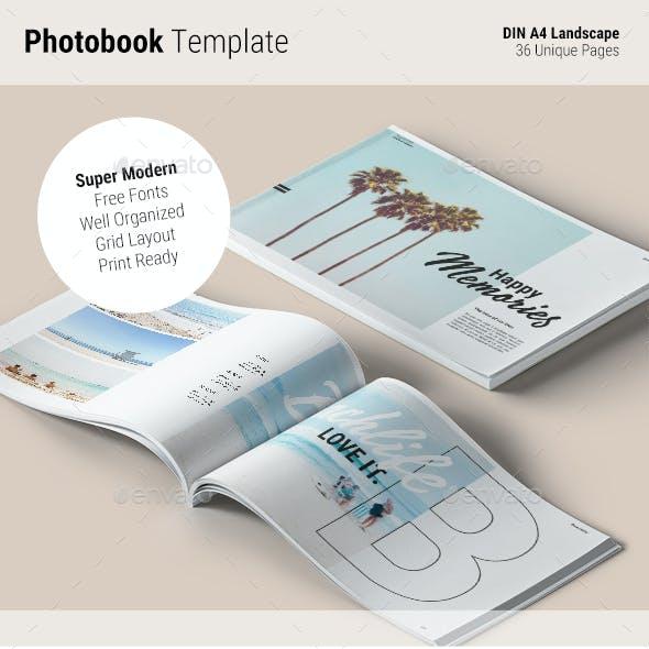 Photobook Template | Memories