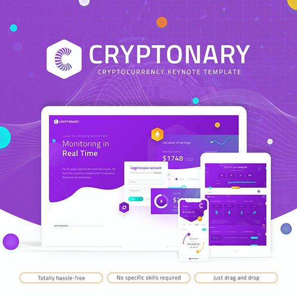 Cryptonary Creative Cryptocurrency Keynote Presentation Template