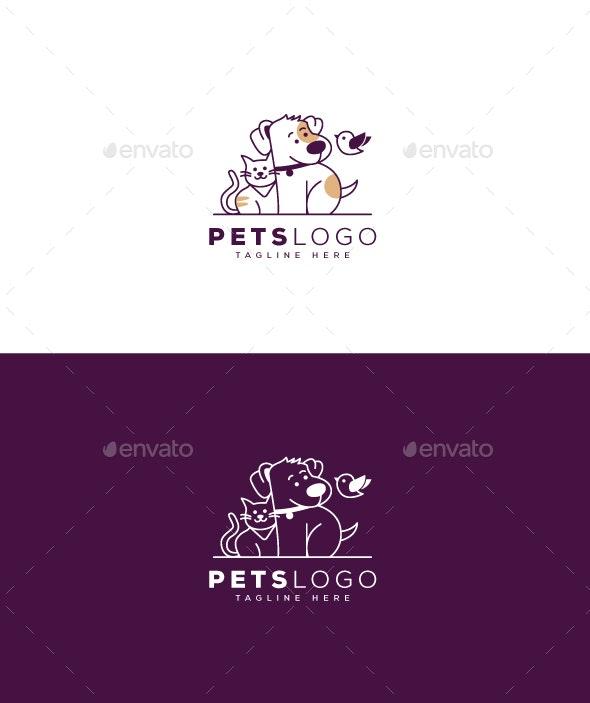 Pets Logo - Animals Logo Templates