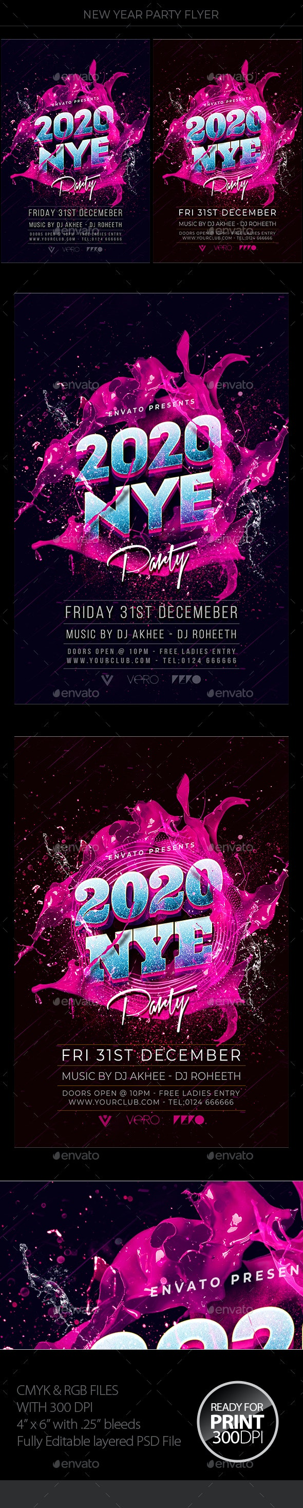 New Years Eve - Clubs & Parties Events