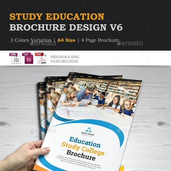 Education Brochure Indesign Template