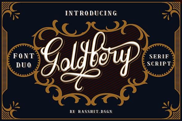 Goldbery - Serif Fonts