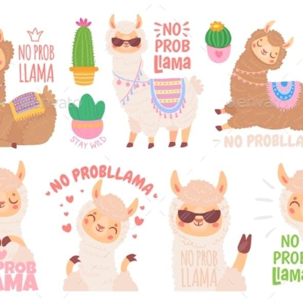 No Prob Llama. Cool Llamas Have No Problems