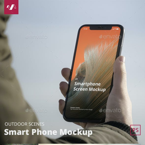 Phone Mockup Outdoor Scenes