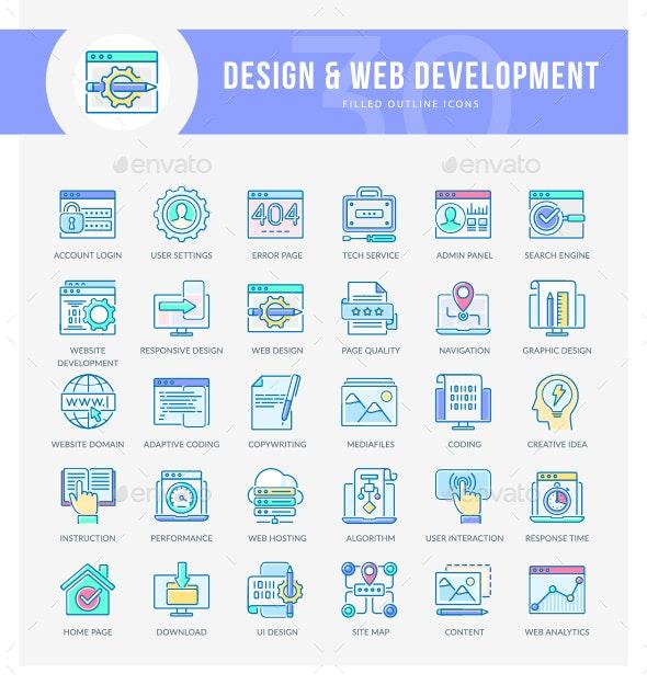 WEB Development Icons - Web Icons