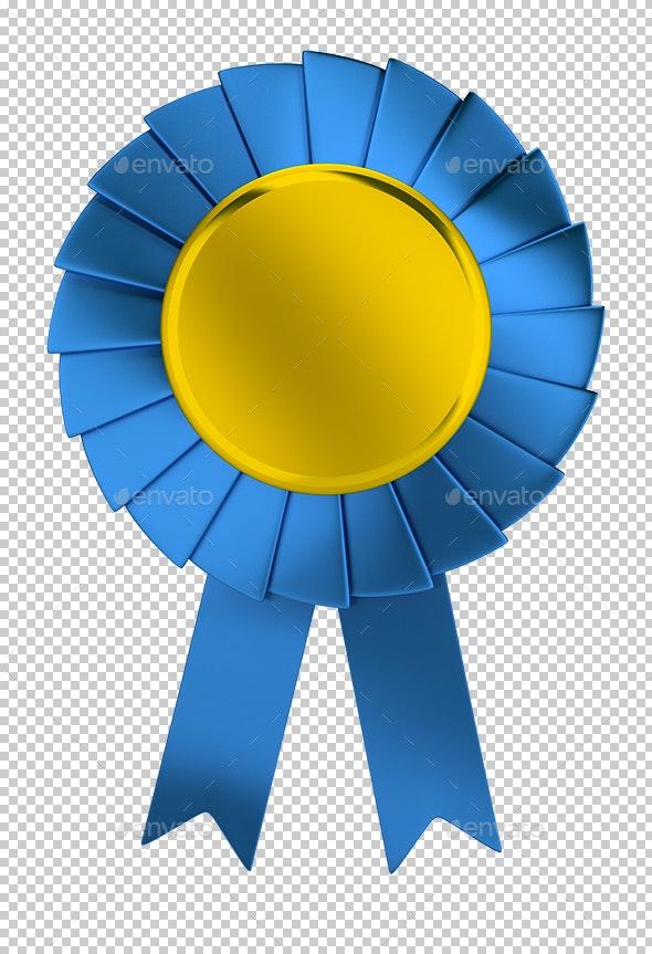 Prize Ribbon - Objects 3D Renders