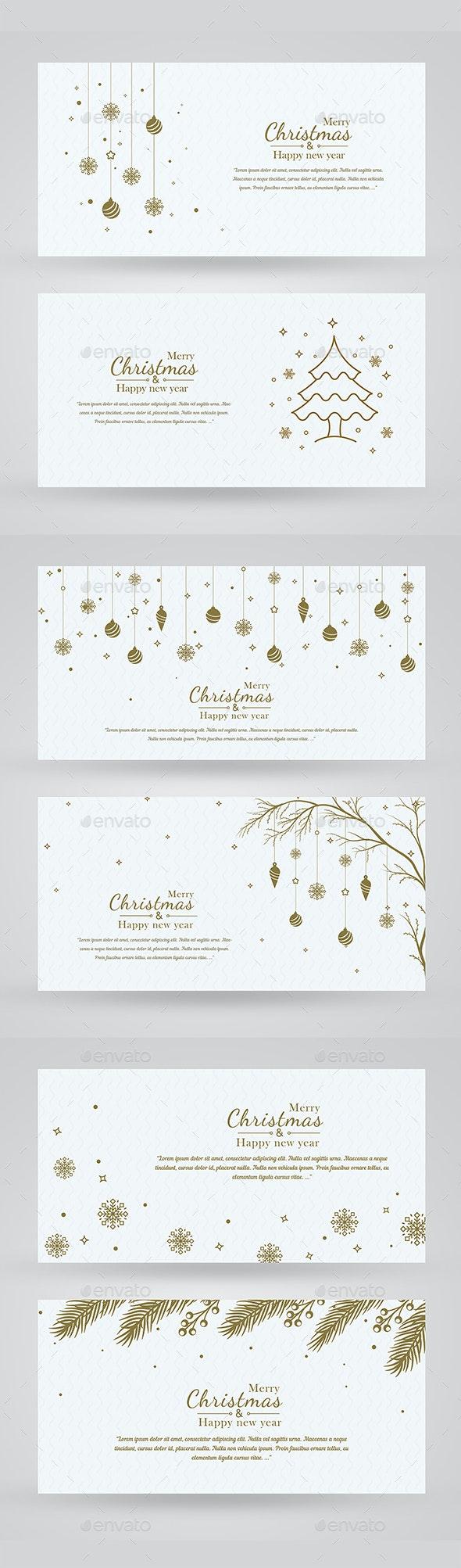 Minimal Christmas Background - Christmas Seasons/Holidays