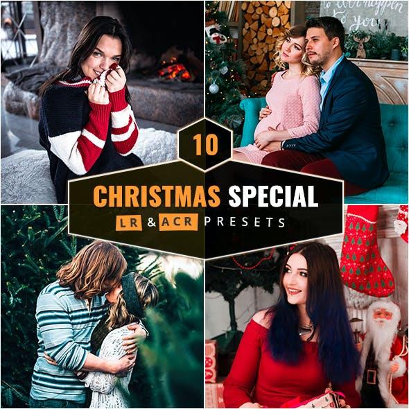 10 Christmas Special Lightroom & Camera RAW Presets