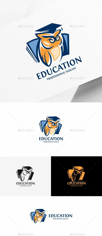 Education Owl - College Logo Templates