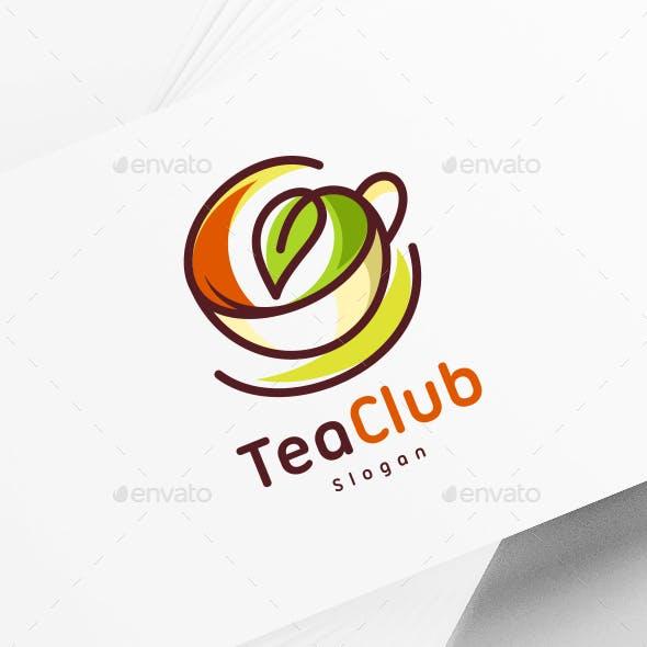 Tea Coffee Cup Logo