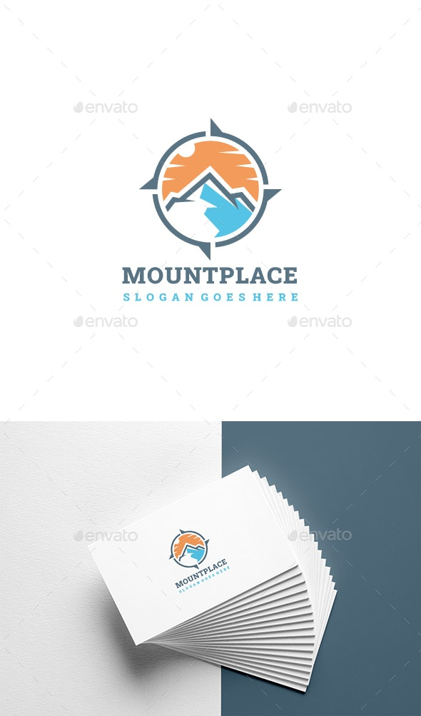 Wild Compass Logo - Nature Logo Templates