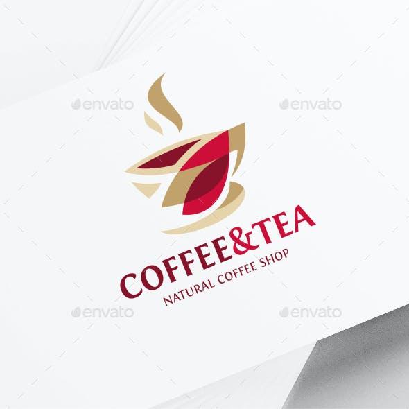 Coffee Tea Cup Logo