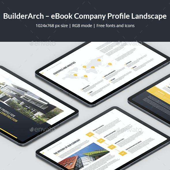 BuilderArch – eBook Company Profile Landscape
