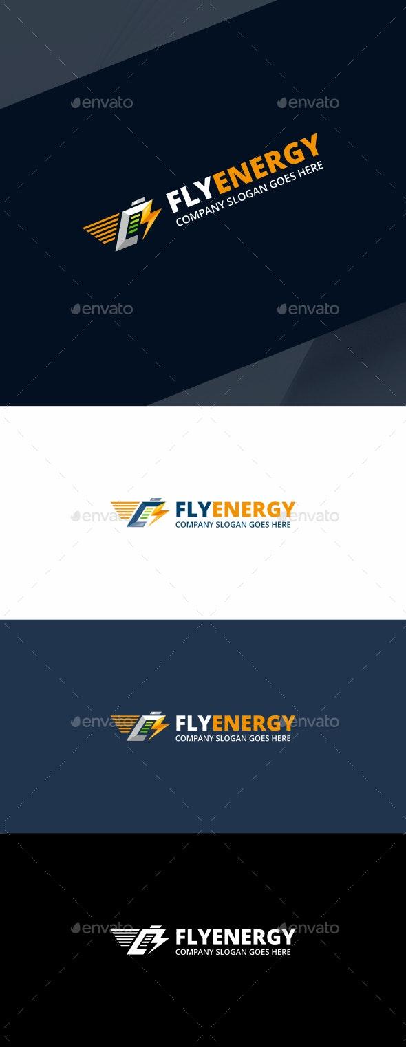 Energy Battery Logo - Objects Logo Templates