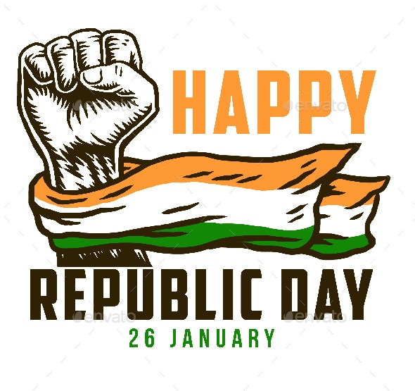Happy India Republic Day By Amillustrated Graphicriver