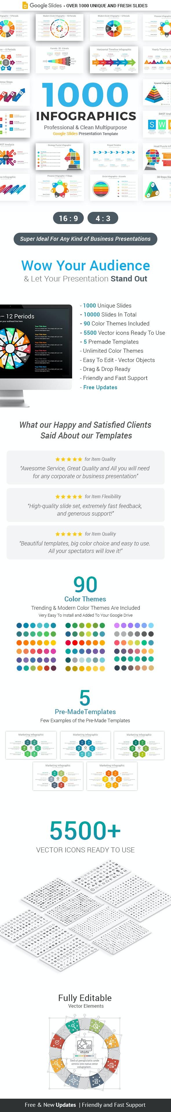 Infographics Pack Google Slides Diagrams - Google Slides Presentation Templates