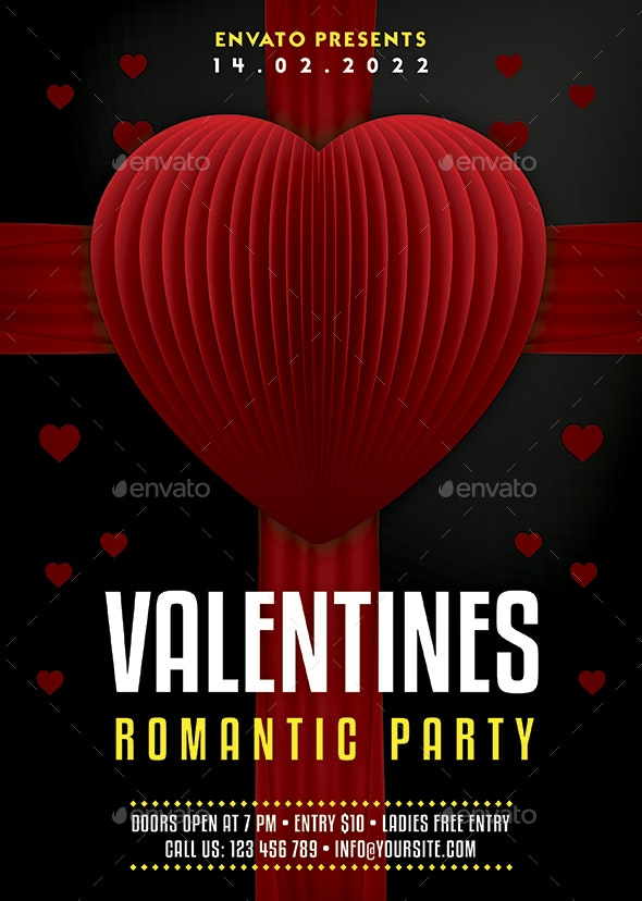 Valentines Flyer - Holidays Events