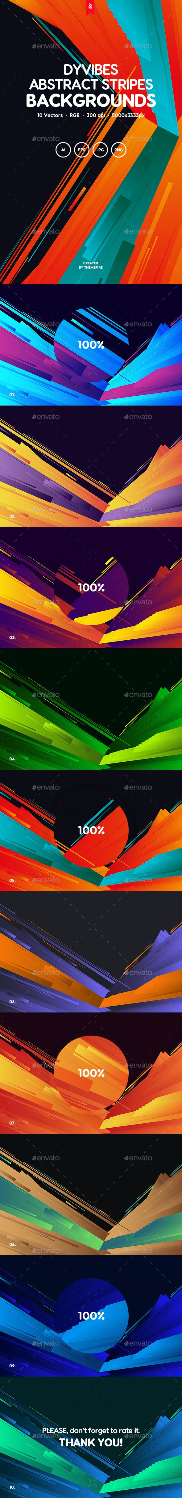 Dyvibes - Abstract Stripes Composition Backgrounds - Miscellaneous Backgrounds