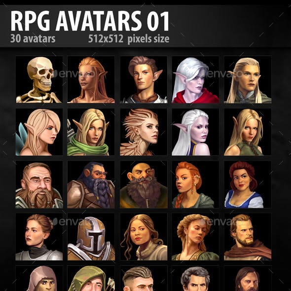 RPG Avatars 01