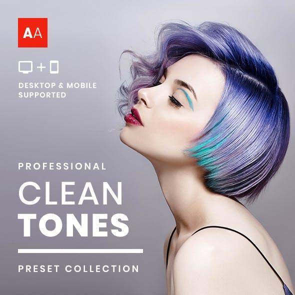 Clean Tones - Desktop and Mobile Presets