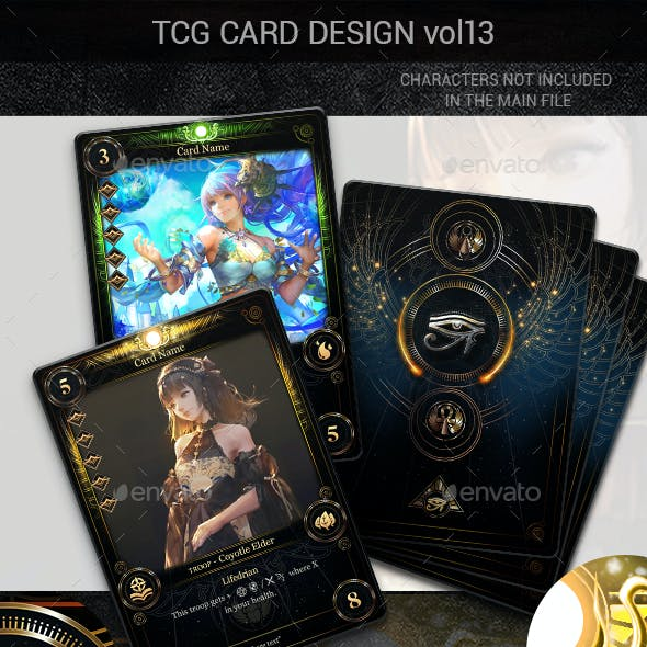 TCG Card Design Vol 13
