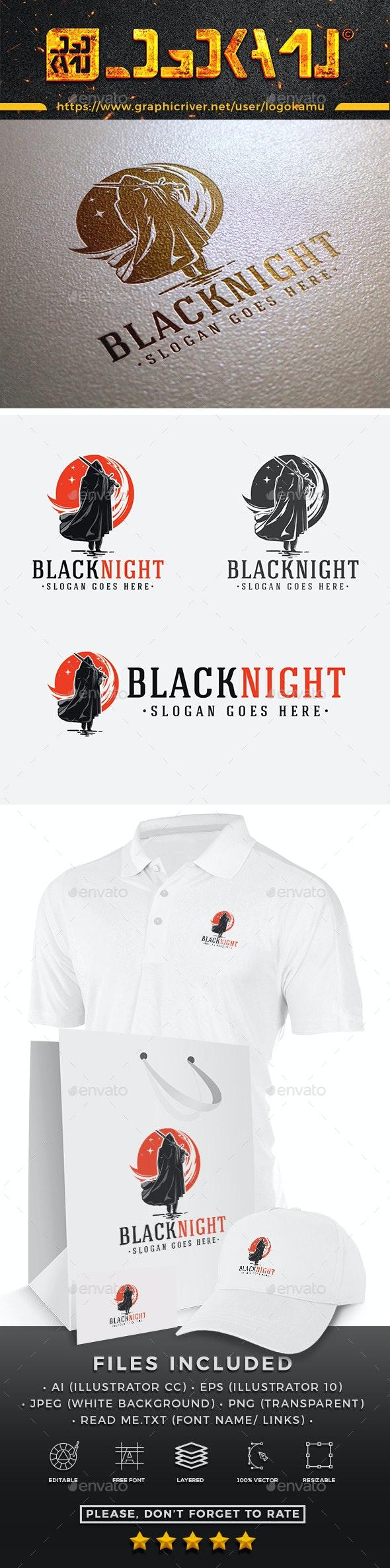 Black Knight Logo - Humans Logo Templates
