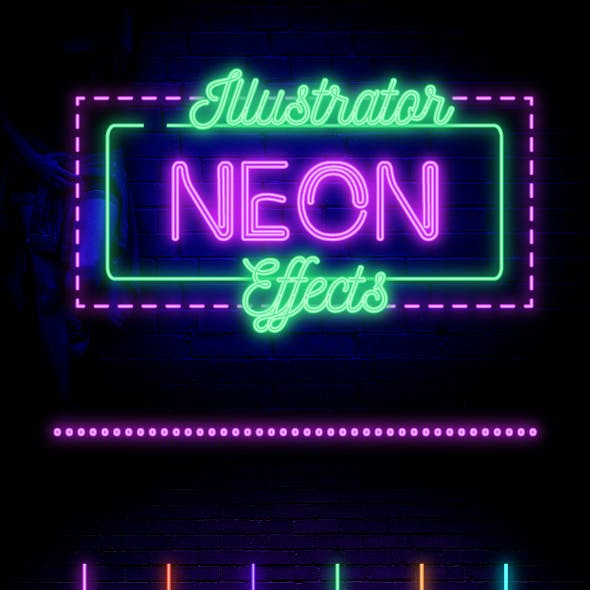 Neon Effects For Illustrator