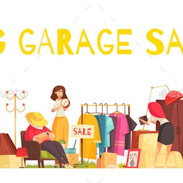 Garage Sale Concept