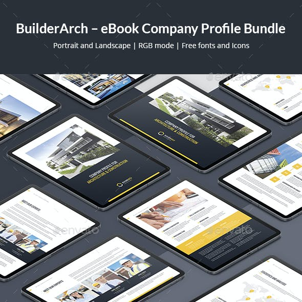 BuilderArch – eBook Company Profile Bundle 2 in 1