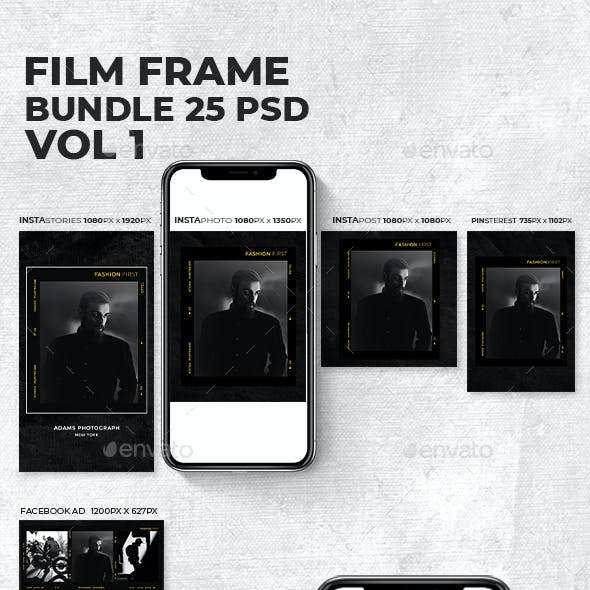 Film Frame Bundle Vol 1