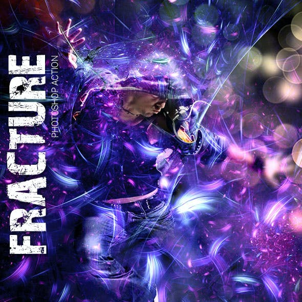 Fracture Photoshop Action