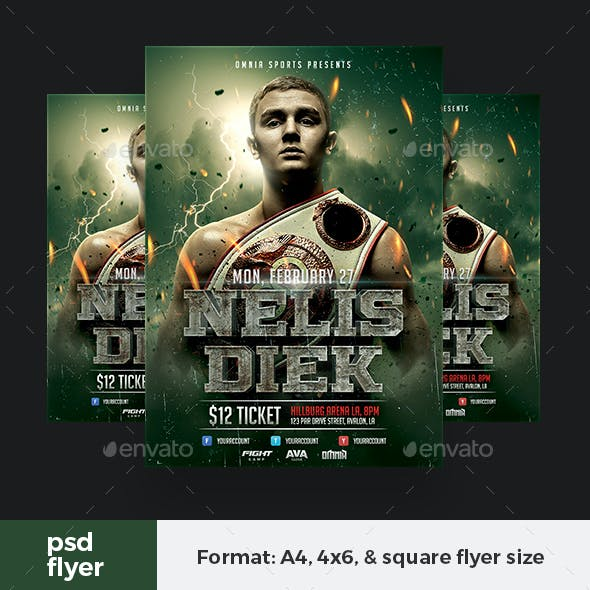 Boxing Fighter Flyer