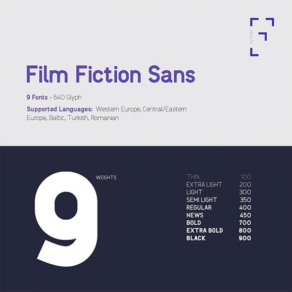 Film Fiction Sans