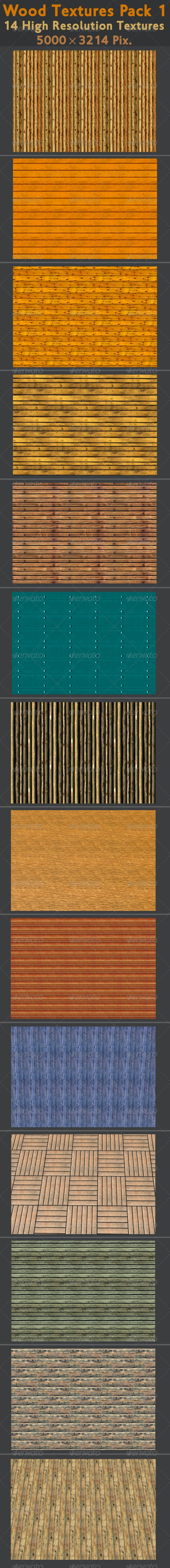 Wood Texture Pack 1 - Wood Textures