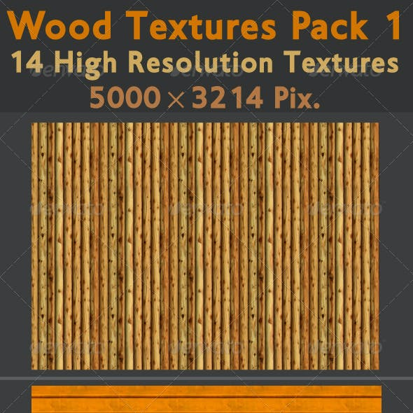 Wood Texture Pack 1