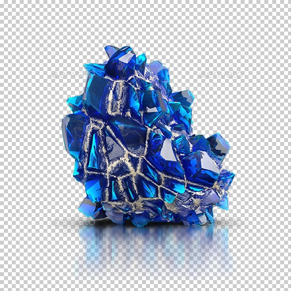 Blue Crystal - Objects 3D Renders