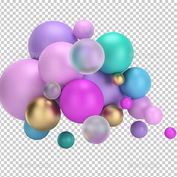 Multicolored Balls